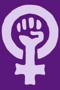Feminismo y ecofeminismo símbolo
