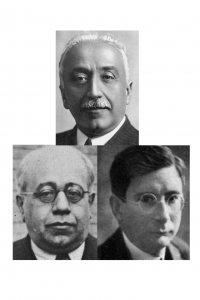 Impulsores Reforma Agraria. Segunda Reública Española. Niceto Alcalá Zamora, Manuel Azaña y Marcelino Domingo